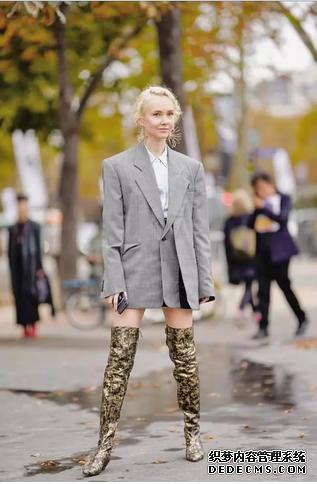 """今年流行穿""""竹笋靴"""",舒适保暖谁穿谁时髦"""